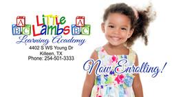 cute girl now enrolling promo