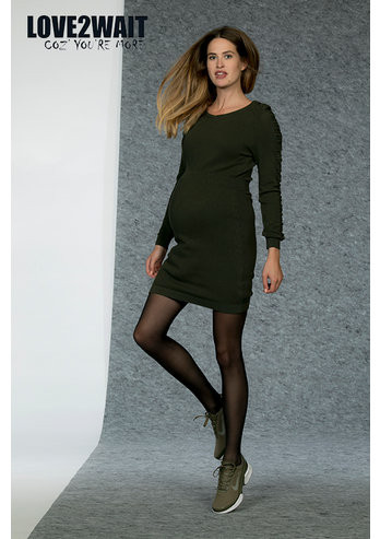 9a3e8ad7b84110 LOVE2WAIT DRESS KNIT GREEN