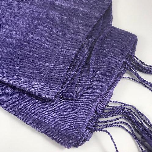Etole de soie Violet