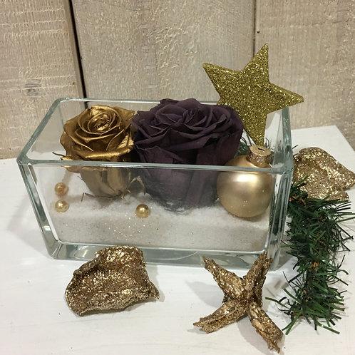 Coupe Noël Violet