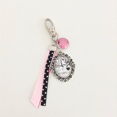 Porte-clés bijoux, Maman 4