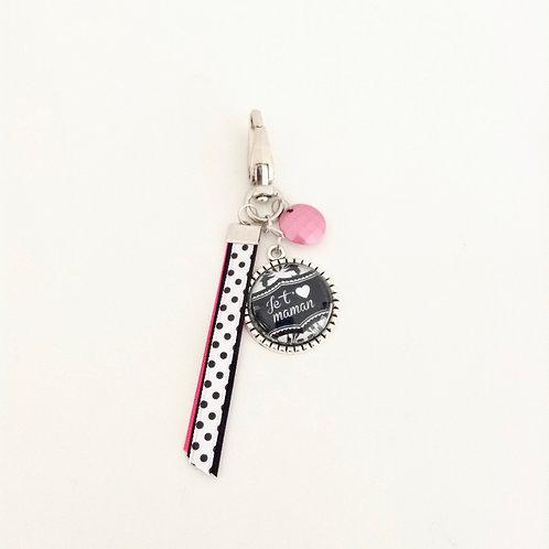 Porte-clés bijoux, Maman 7
