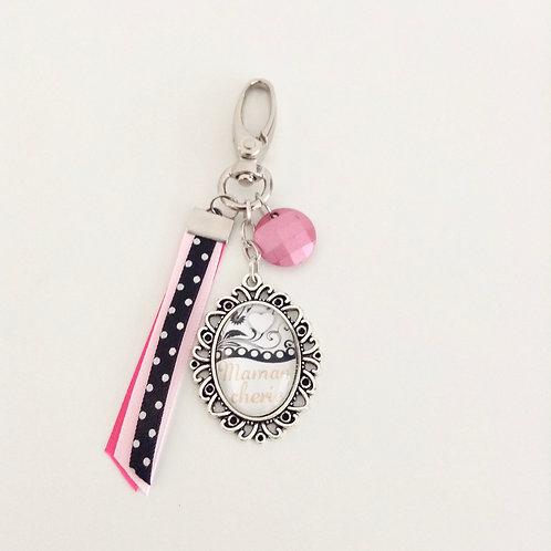 Porte-clés bijoux, Maman 5