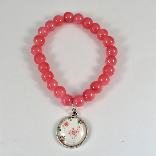 Bracelet FLAMANT ROSE 2