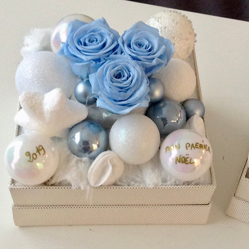 Box XMAS 1er Noël, Bleu