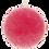 Thumbnail: Bougie rose, diam. 8 cm