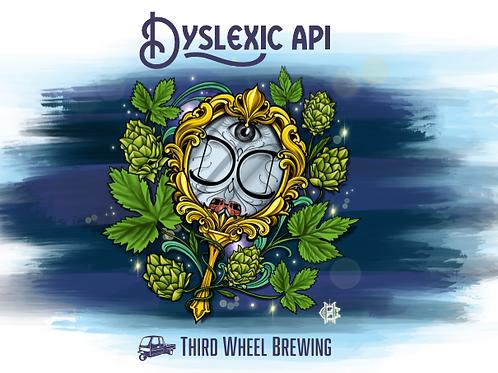 Dyslexic API 4-Pack 16oz Cans