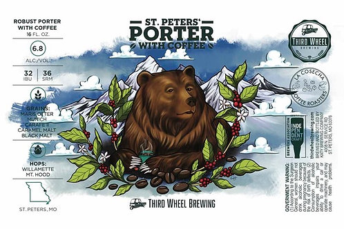 St. Peter's Porter with Coffee 4-Pack 16oz Cans