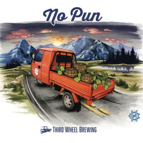 No Pun IPA 4-Pack 16 oz cans