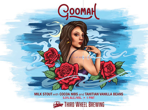 Goomah 4-pack 16 ounce cans