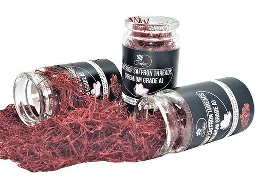 TEALUV Superior Saffron Threads - 20 Grams
