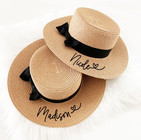Personalized Boater Hat
