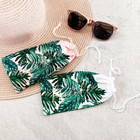 Palm Leaf Sunglasses Pouch