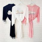 Retro Wedding Cotton Lace Robes