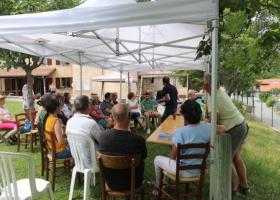 Une synthèse des  trois ateliers participatifs a permis à tous d'avoir une vue d'ensemble  sur les différentes discussions.permis