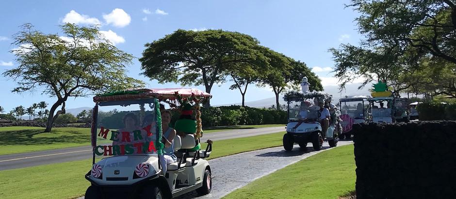 ゴルフカート ホリデーパレード
