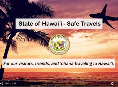 ハワイご到着前に「Safe Travels」オンライン手続きを!