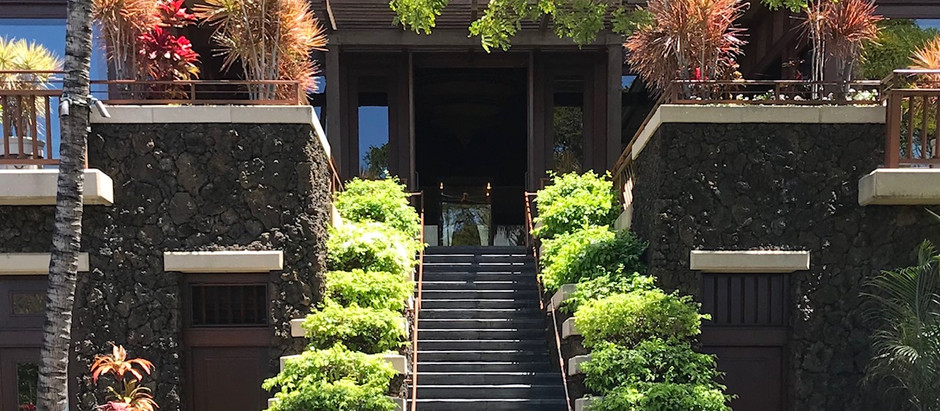 Four Seasons Hualalaiのアップグレード