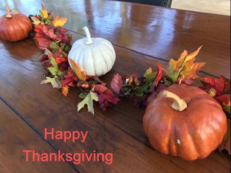 Thanksgiving Day! 日頃の感謝を込めて!