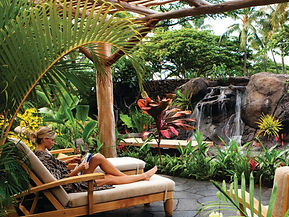 Relax at spa garden