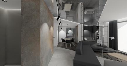 wizualizacja projektu   korytarz