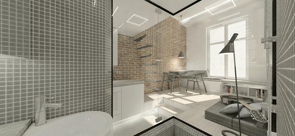 wizualizacje   łazienka
