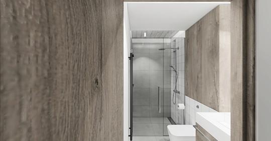 toaleta z prysznicem