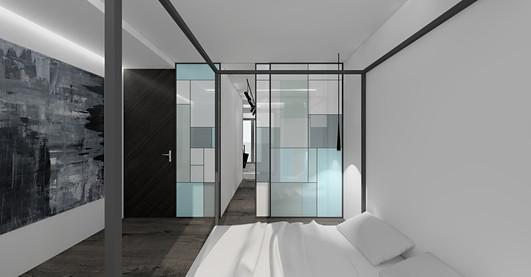 wizualizacja projektu   sypialnia