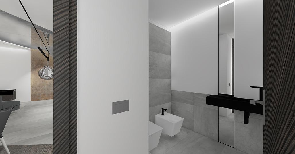 wizualizacja projektu   toaleta