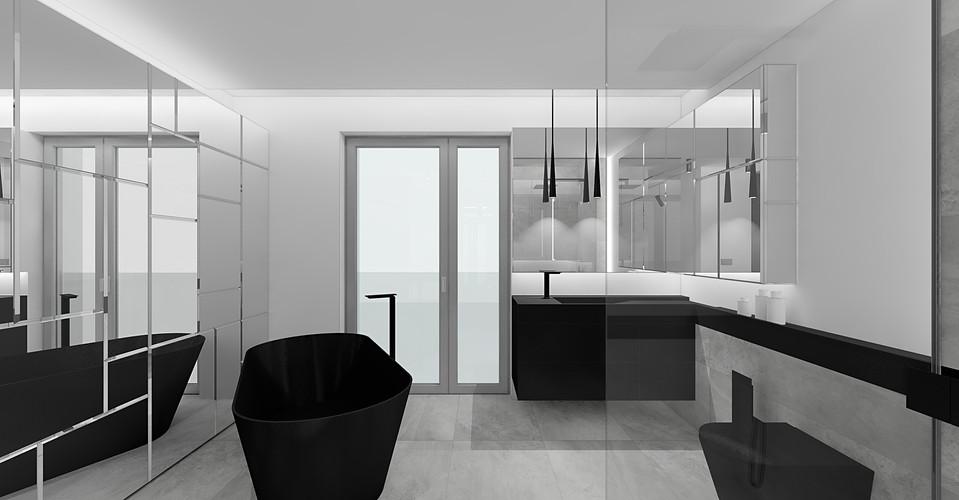 wizualizacja projektu   łazienka