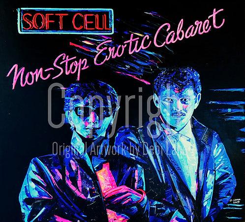 Soft Cell - Debi Lane Mounted Print