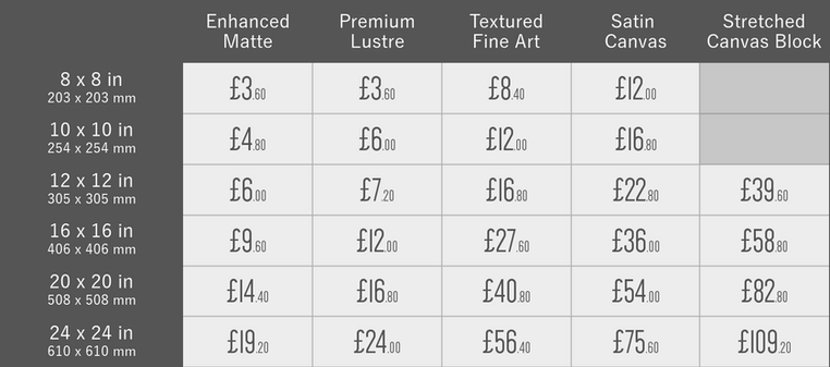 PRINT PRICE LIST Incl VAT - SQ SIZES.png
