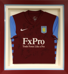 Signed Aston Villa Football Shirt