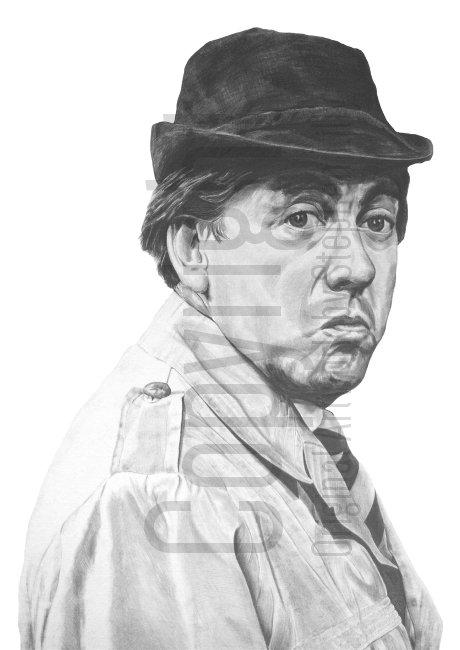 'Tony Hancock no.1' - Stephen Lilly - Print