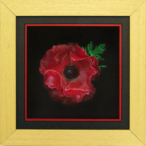 Oak Poppy Frame (Incl. Polymer Poppy)