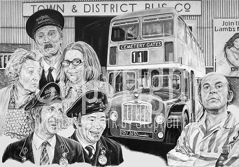 'On The Buses' - Stephen Lilly - Print