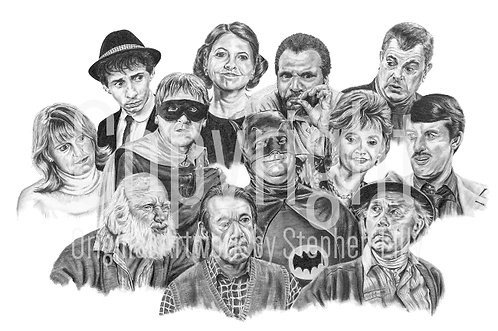 'Only Fools And Horses' - Stephen Lilly - Print