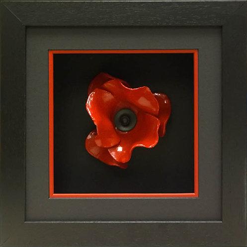 Contemporary Black Poppy Frame