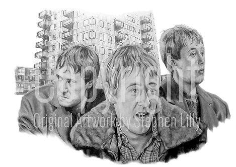 'Rodney Trotter' - Stephen Lilly - Print