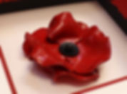 White box frame with red inner mount and soldier graphics Poppy Frame for Tower of London ceramic poppy