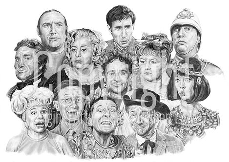 'Carry On' - Stephen Lilly - Print