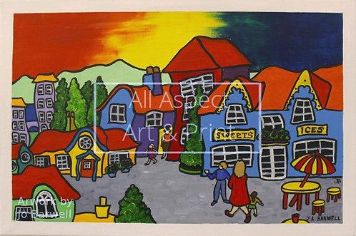 'Simple Life' - Jo Barwell #6 - Original Painting