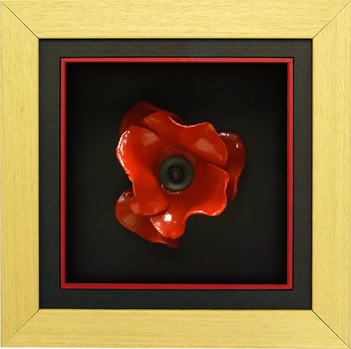 Oak Poppy Frame