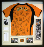 Framed Wolves Football Shirt