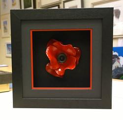 Ceramic Poppy Frame