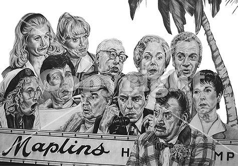 'Hi De Hi' - Stephen Lilly - Print