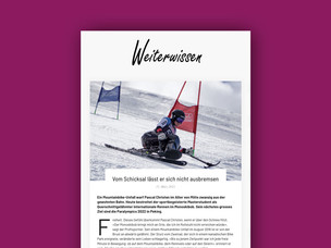 Das «Doppelleben» als Skirennfahrer und Student an der OST