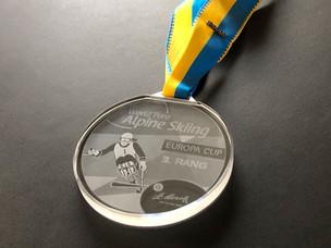 Dritter beim Europacup St. Moritz