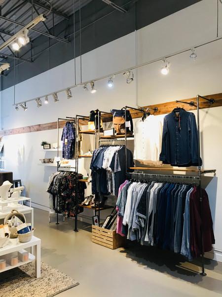 Multiple Clothing Rack Display Options