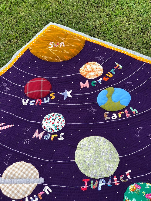 Space Head Quilt